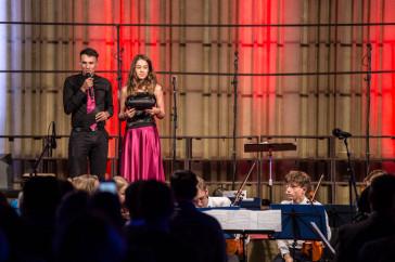 Pocta Sametu - koncert Sboru Kos (s kolegyní Natálií)